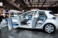 Renault Zoe on IAA Frankfurt 2011 Royalty Free Stock Photography