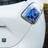 Renault Zoe rearlight detail Stock Photo