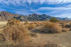 Renbaan Playa Het Nationale Park van de doodsvallei californi? De V.S. royalty-vrije stock afbeeldingen