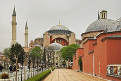 Renbaan van Constantinopel (Sultanahmet-vierkant) in Istanboel Turkije stock fotografie