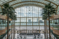 Rencen winter garden Stock Photos