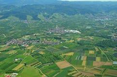 Renchtal Ortenau, lucht Stock Foto