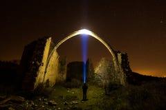 Rencontre de nuit Photo stock