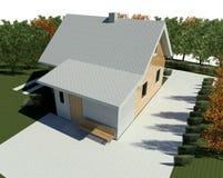 Renda: bungalow Ilustração Royalty Free