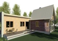 Renda: bungalow Imagem de Stock Royalty Free