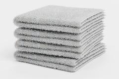 Renda da pilha das toalhas Foto de Stock Royalty Free