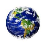 Renda della terra del pianeta Immagini Stock Libere da Diritti