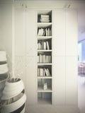 Renda di un interior design della casa urbana royalty illustrazione gratis