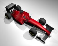 Renda o carro de fórmula Fotos de Stock Royalty Free