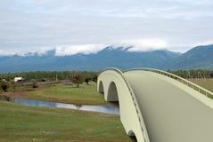 Renda a ponte da arquitetura da ilustração Imagens de Stock Royalty Free