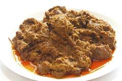 rendang индонезийца еды говядины Стоковые Изображения RF