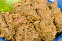 Rendang Daging Stock Photo