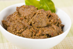Rendang Daging Royalty Free Stock Photo