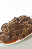 Rendang: Indonesian traditional dish Royalty Free Stock Image
