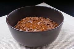 Rendang picante caliente fresco de la carne de vaca Fotos de archivo libres de regalías