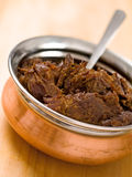 Rendang picante da carne Imagens de Stock