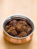 Rendang picante de la carne de vaca Foto de archivo libre de regalías