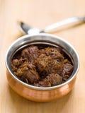 Rendang picante de la carne de vaca Imagen de archivo libre de regalías
