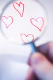 Rendant l'amour plus grand photographie stock