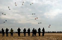 Rendement de cerf-volant Photographie stock libre de droits