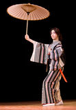 Rendement de danse de Japonais Image stock