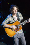 Rendement sous tension de Chris Cornell Image libre de droits