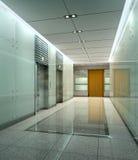 Rendendo o corredor moderno Fotos de Stock