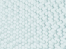 Rendendo o fundo nano branco abstrato Fotos de Stock