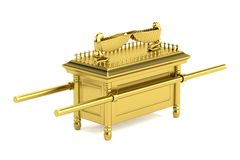 Render of ark of the covenant Royalty Free Stock Image