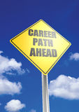 Career path ahead Royalty Free Stock Photography