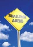 Challenge ahead royalty free stock photos