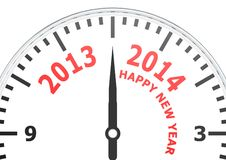 New year of 2014 Royalty Free Stock Photography
