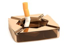 Render of ashtray Stock Photography