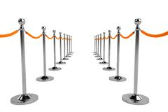 Render of barrier Royalty Free Stock Photo