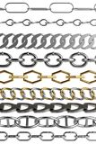 Render of chains Royalty Free Stock Image