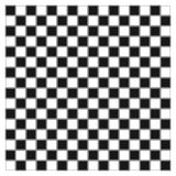 Render of checker board. White and black chess board with decorative stripes on the fields Royalty Free Stock Photography