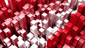 3D Geometric Abstract Background stock video