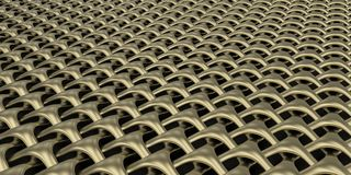 3D Geometric Weave Abstract Wallpaper Background. Render of 3D Geometric Weave Abstract Wallpaper Background stock images