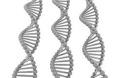 Render of DNA Royalty Free Stock Photography