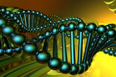 Render of DNA Stock Image