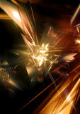 Render Effect. Abstract 3D Render Royalty Free Stock Photography