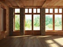 Render empty interior Stock Photography