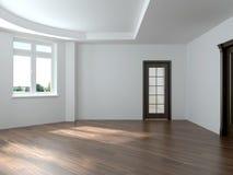 Render empty interior Royalty Free Stock Photo