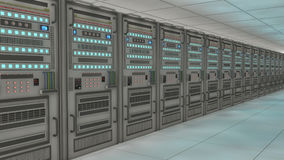 Render farm concept Stock Photos