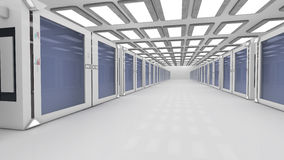 Render farm Royalty Free Stock Photo