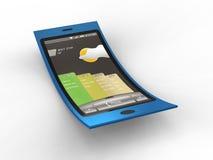 Flexible Mobile Stock Photo