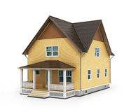 Render of house Stock Photo