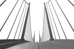 Render illustration architecture bridge. Render 3d illustration architecture bridge Stock Photo