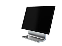Render illustration of computer screen Royalty Free Stock Images