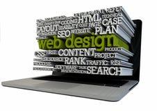 Web design royalty free illustration